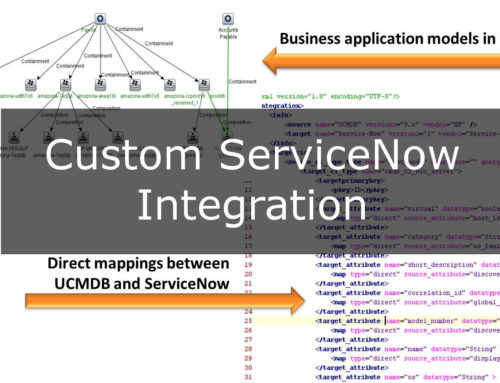 Custom ServiceNow Integration