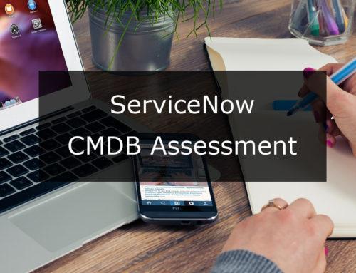 ServiceNow CMDB Assessment Case Study