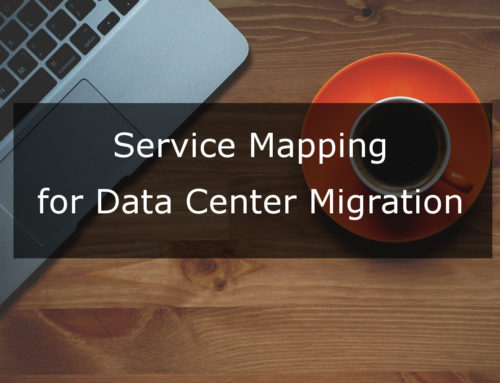 Service Mapping for Data Center Migration Case Study