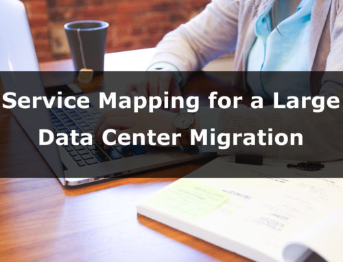 Service Mapping for Data Center Migration